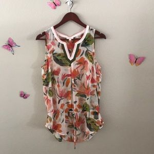 Tops - Gorgeous spring/summer sheer blouse